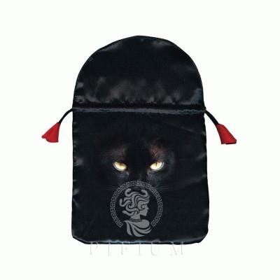 Мешочек для карт Таро Черная кошка