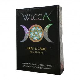 Викканский Оракул Ведьм (с серебристым срезом)