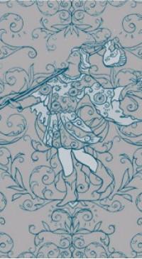 Таро с черно-белой рубашкой