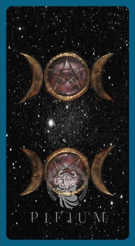 Набор Таро Книга Теней с двумя колодами. Рубашка