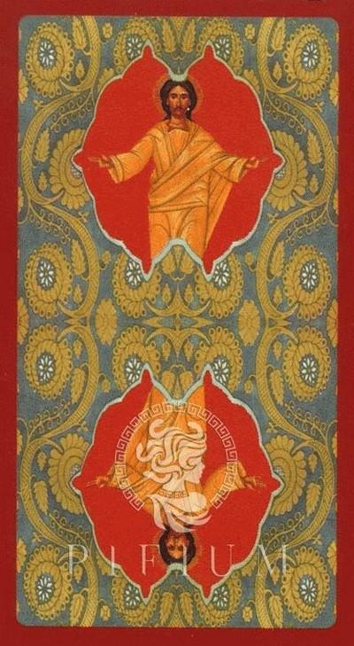 Таро Золото Икон. Рубашка