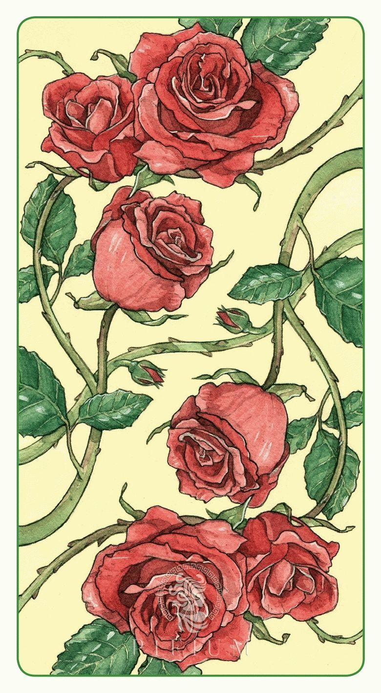 Таро Романтическое. Рубашка