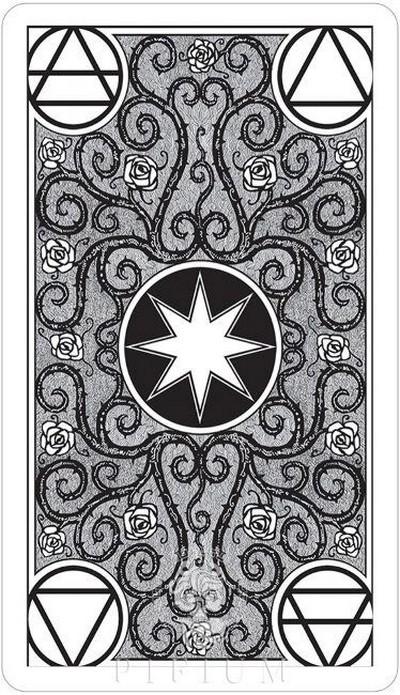 Черно-Белое Таро на русском языке. Рубашка