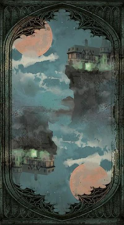 Таро Дом с Привидениями. Рубашка